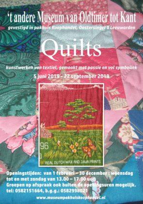 'Quilts, kunstwerken van textiel'