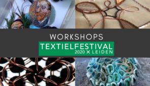 Workshops tijdens Textielfestival 2020
