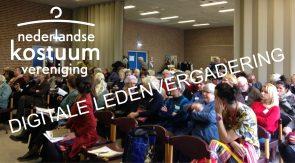 Online Algemene Ledenvergadering 6 maart 11 uur