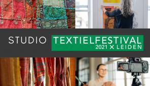 Studio Textielfestival 2021 dit najaar en alleen online